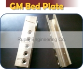 gun metal bed plate