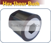 hex shear bush
