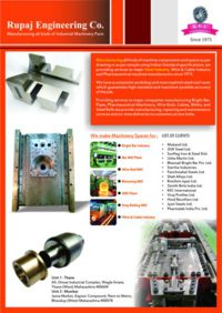 Manufacturing Machine Components